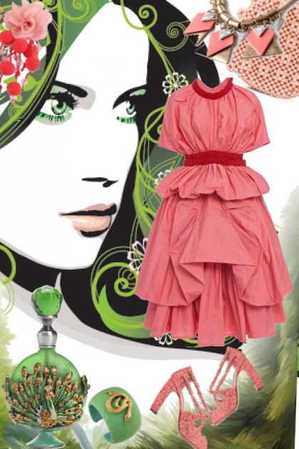 Sommer i rosa- Modna kombinacija