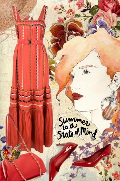 Rødt i sommer