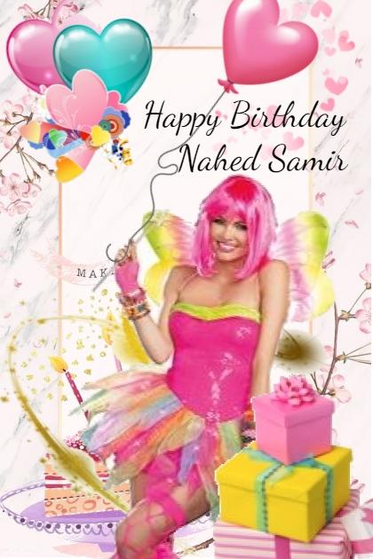 Happy Birthday Nahed Samir