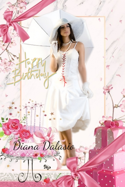 Happy birthday Diana Dalasio