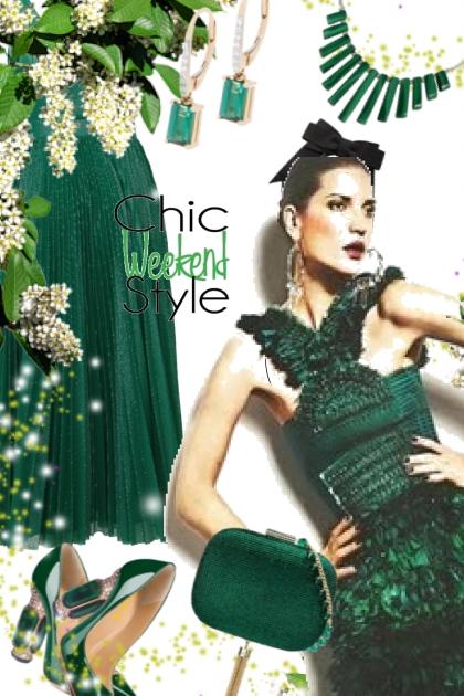 Green dress 31-7