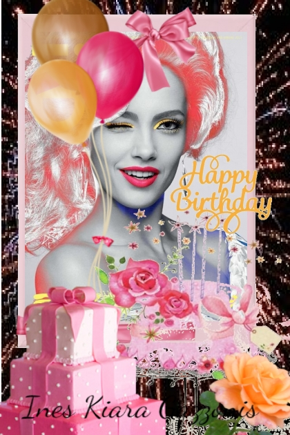 Happy Birthday Ines Kiara Gazzonis