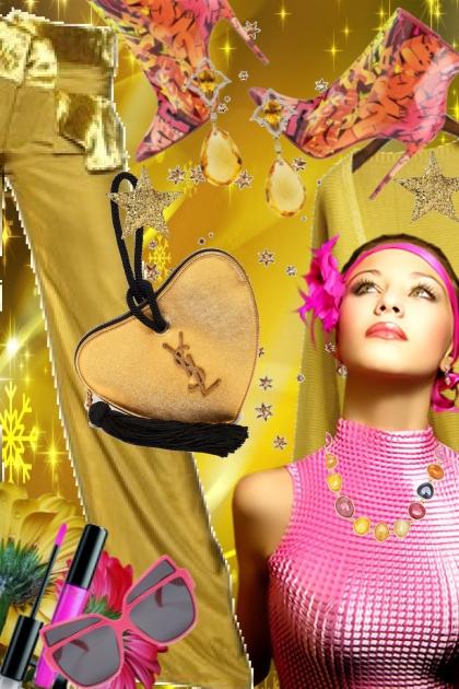 Gull og rosa 21-8- Combinazione di moda