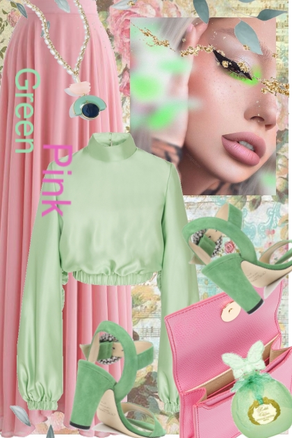 Green and pink 1