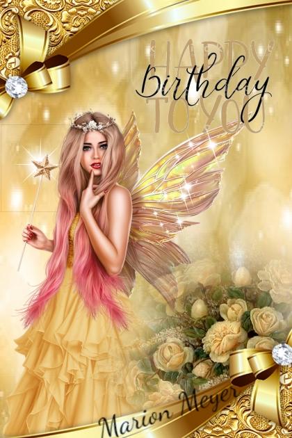 Happy Birthday Marion Meyer