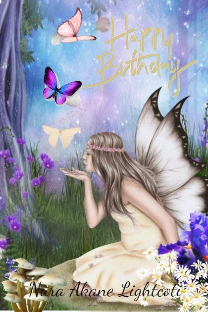 Happy Birthday Nura Akane Lightcoti