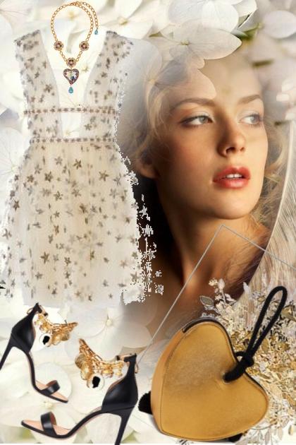 Kjole med stjerner