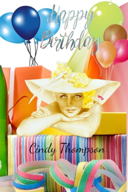 Happy Birthday Cindy Thompson
