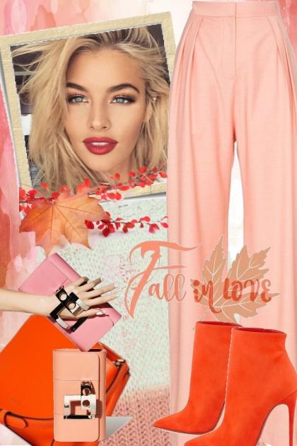 Rosa og orange