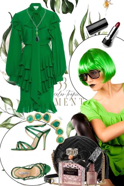 Green 1-10- Fashion set