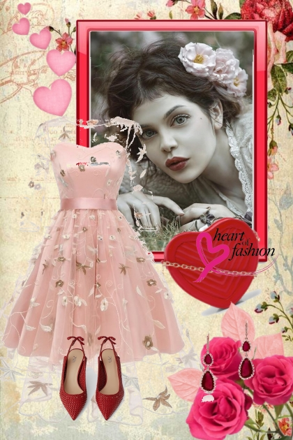 Pink dress 5-10