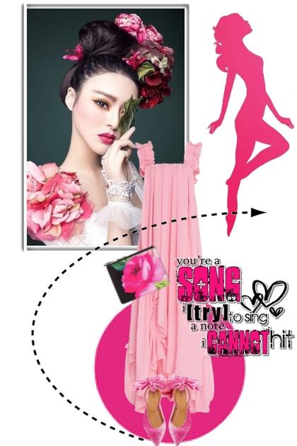 Pink dress 25