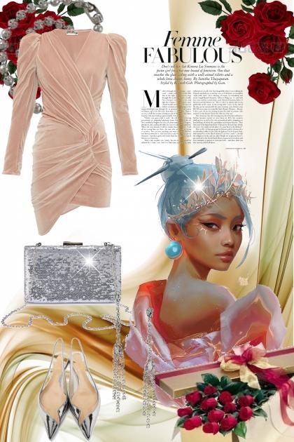 Lys rosa kjole
