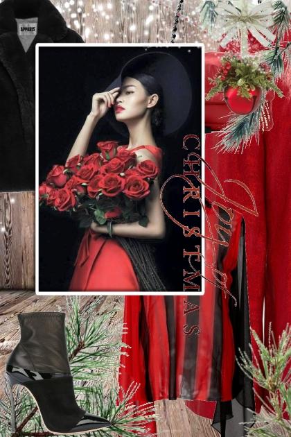 Sort og rødt til jul