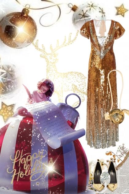 Gull til julefesten