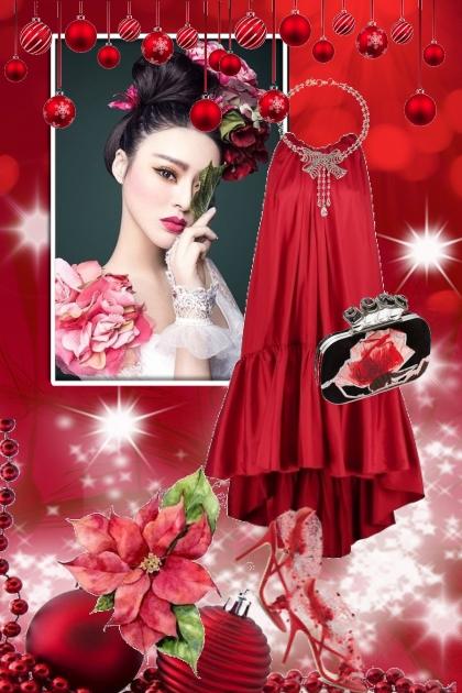 Red Christmas dress 25-12