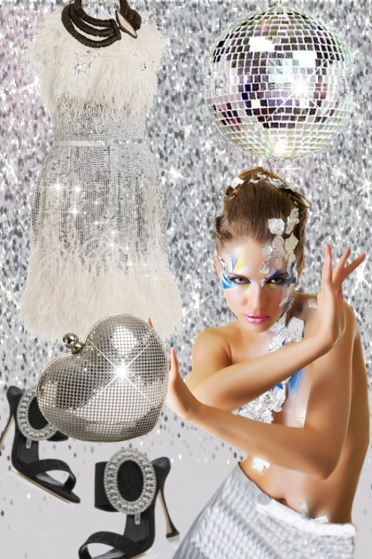 Silver dress 18-1