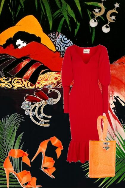 Red dress 18-1