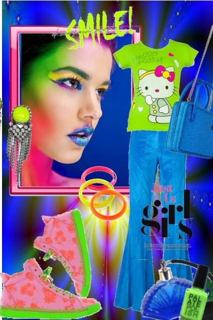 Blå/grønn- Fashion set