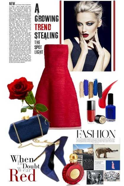 Red dress 2-2