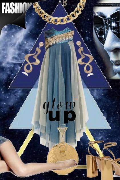 Blue dress 25-2