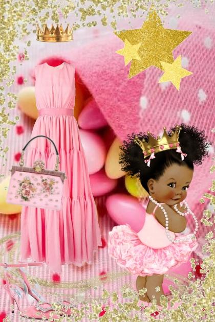 Sweet pink dress 28-2