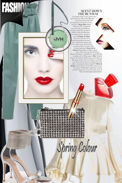 Green and silver- Combinazione di moda