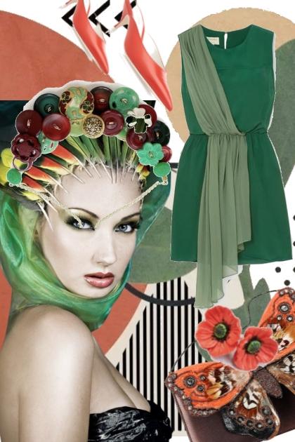 Green dress 27