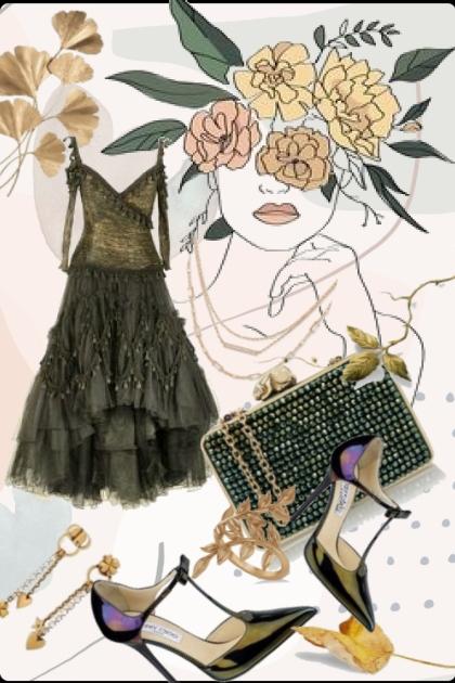 Green dress 11/4