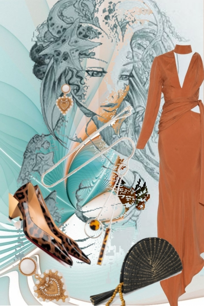 Brown dress 10
