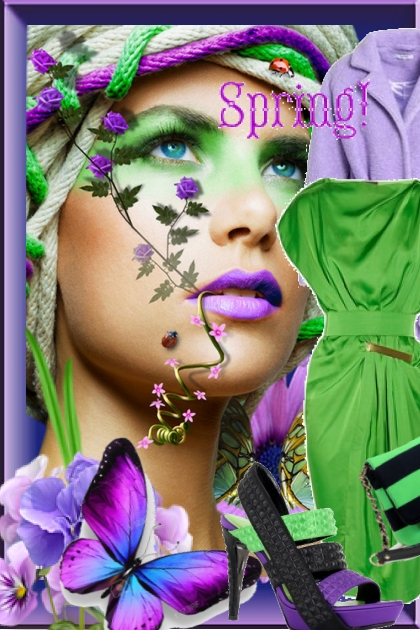 Purple and green 11