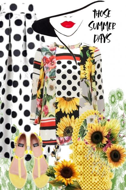 Those summer days- Fashion set