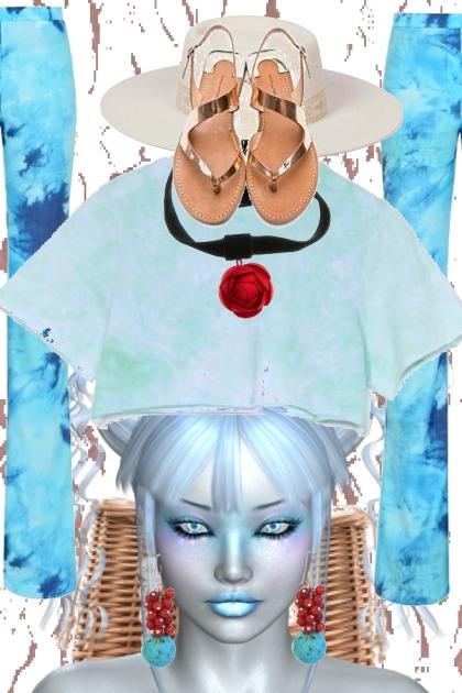 Blue 22- Fashion set