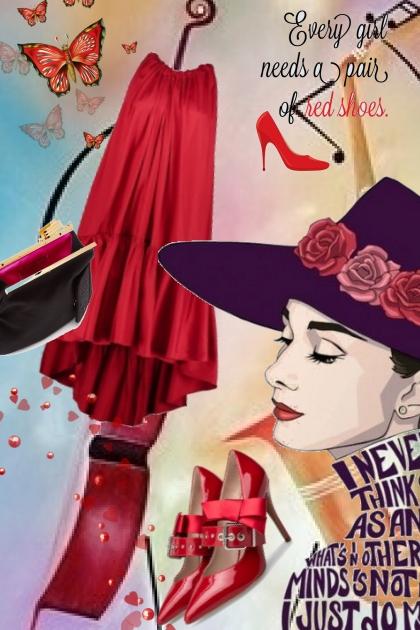 Red dress 27-4