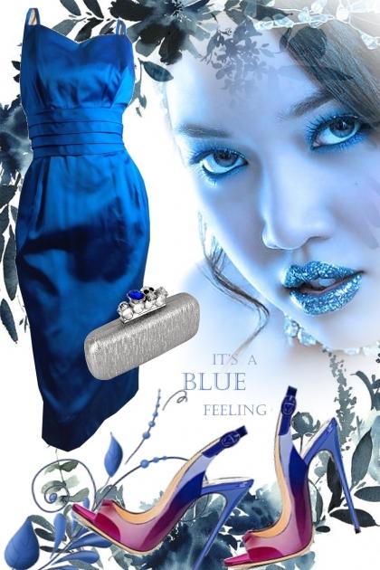 Blue dress 4-5