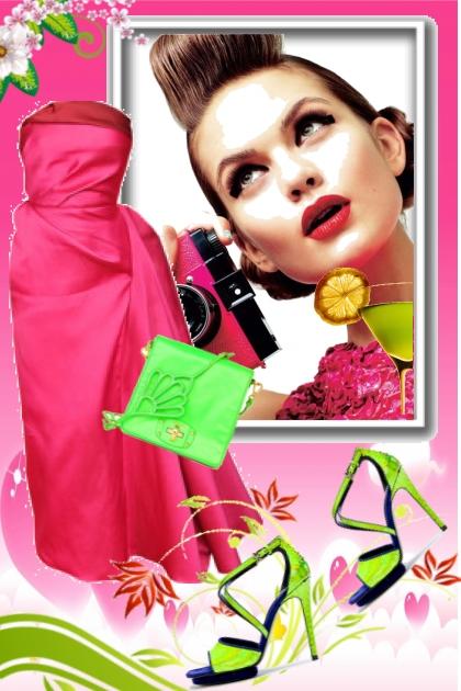 Pink dress 13-5