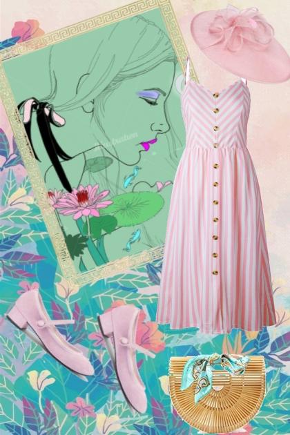 Pink dress 14