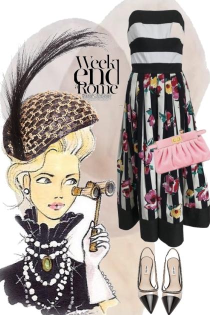 Stripete kjole 15-5