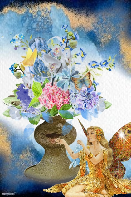 Vase med fe