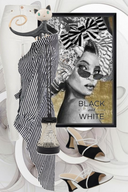 Black and white 4-6