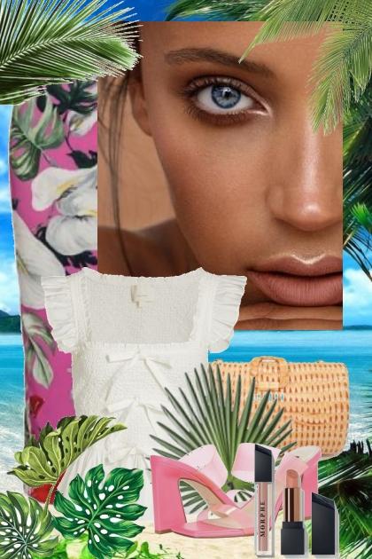 Tropical print 17-7