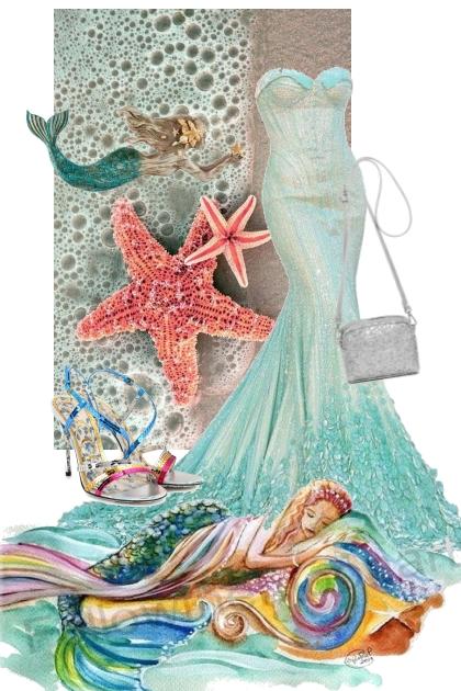 Havfrue-kjole