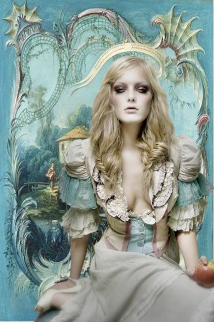 Jente fra gammel tid- Fashion set