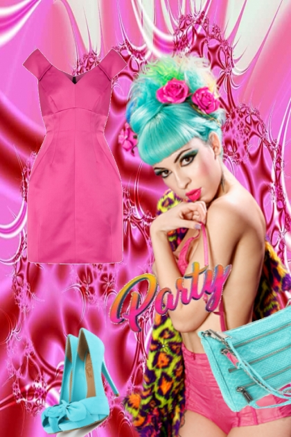 Pink dress 3-8