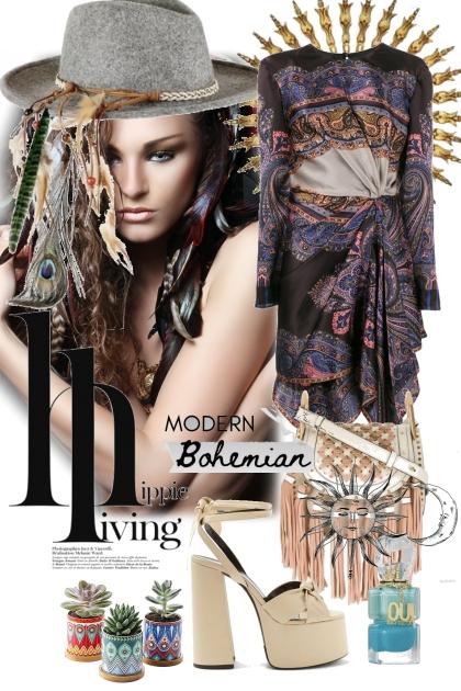 Modern bohemian- Combinaciónde moda