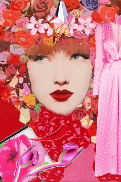 Rosa kjole 21