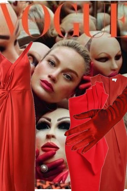 Røde kjoler- Fashion set