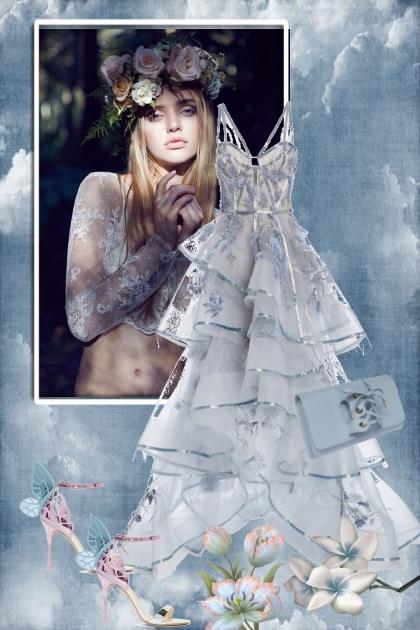 Romantisk sid kjole
