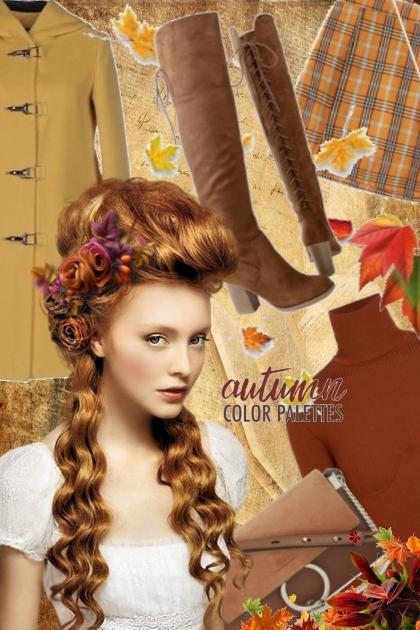 Antrekk i høstens farger