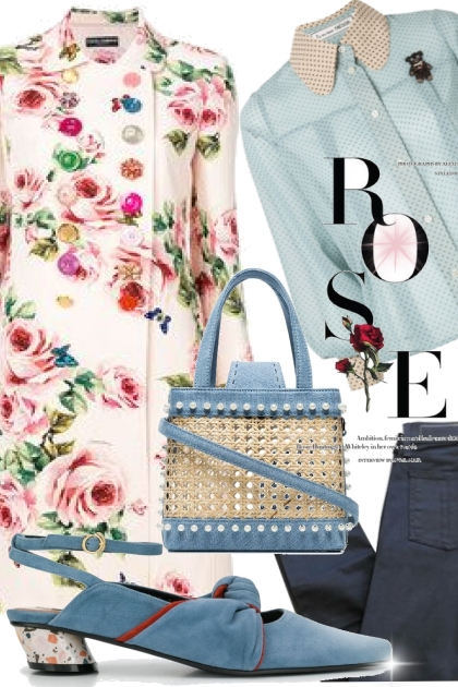Rose and blues!